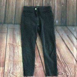 Crew cuts, j. Crew gray, stretch skinny pants